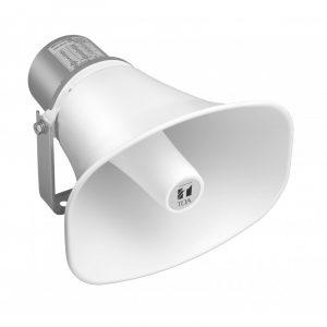 Bocina Tipo Trompeta para Instalación de 30W y 8 Ω - Marca TOA SC-630 Color Hueso