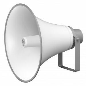 Bocina Tipo Trompeta para Instalación de 15W y 8 Ω – Marca TOA TC-615 Color Hueso