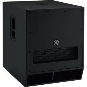 Subwoofer amplificado YAMAHA DXS18 color negro
