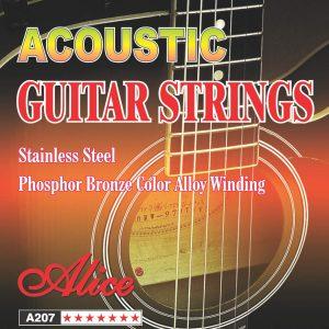 Set de Cuerdas Metalicas para Guitarra Acustica marca Alice