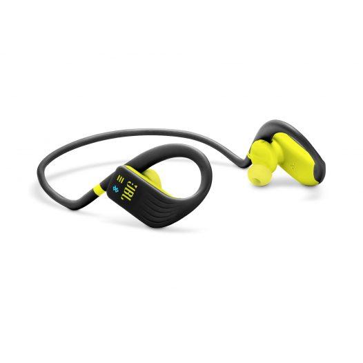 Audifonos Bluetooth JBL Endurance Dive Para Nadar color Verde Lima con Negro
