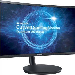 """Monitor LED Curvo Gaming Samsung de 24"""" 1920x1080 HD"""