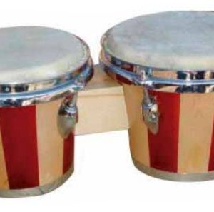 Bongo Bocheli de 7 Pulgadas x 8 Pulgadas N/WR