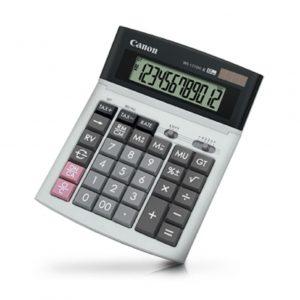Calculadora de Escritorio Canon WS-1210HI III 12 Dígitos Color Gris/Negro
