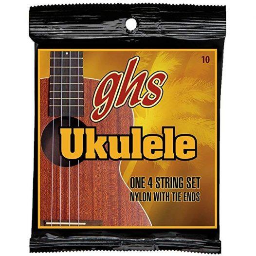 Set de Cuerdas para Ukulele Serie 10 Marca GHS