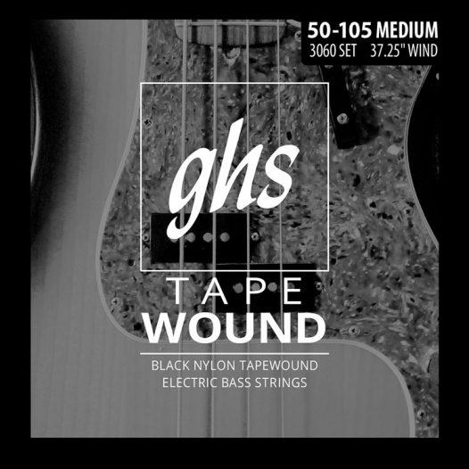 Set de Cuerdas para Bajo de 4 cuerdas Tapewound Marca GHS