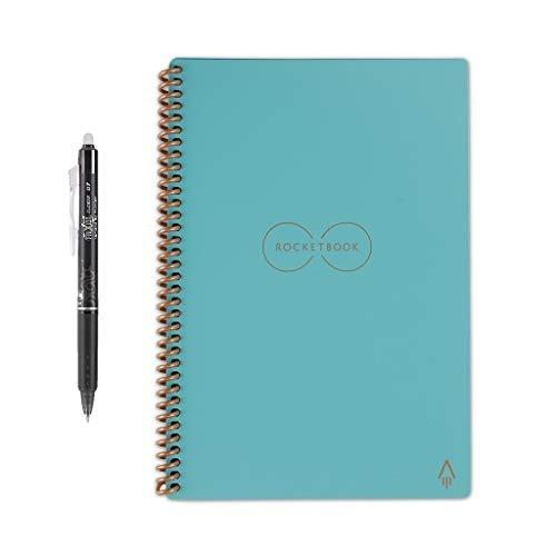 Cuaderno Rocketbook Evertlast Tamaño Carta Color Celeste