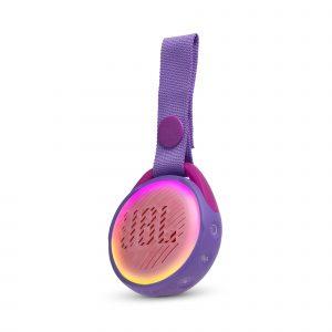 Bocina Bluetooth JBL JR POP para Niños con Show de luces color Rosado
