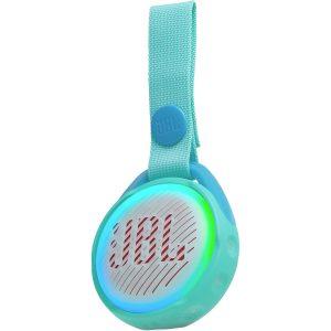 Bocina Bluetooth JBL JR POP para Niños con Show de luces color Turquesa