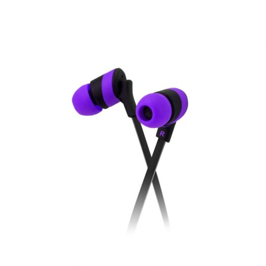 Audifonos Klip Xtreme KolorBudz 3.5mm Color Morado