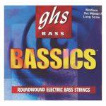 Set de Cuerdas para Bajo de 5 cuerdas Bassics Marca GHS