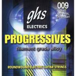 Set de Cuerdas para Guitarra Eléctrica Progressive Extra Ligera Marca GHS