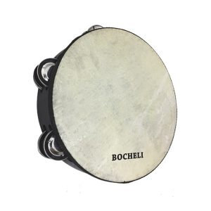 "Pandero Bocheli 10"" Diseño Liso"