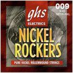 Set de Cuerdas para Guitarra Eléctrica Rockers Extra Ligera Marca GHS