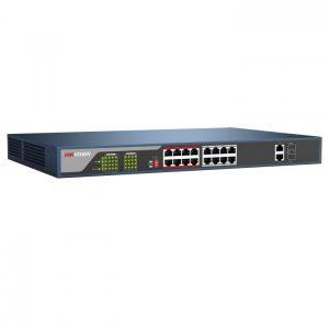 Switch de Red HIKVISION DS-3E0318P-E Sin Gestionar 16 Puertos