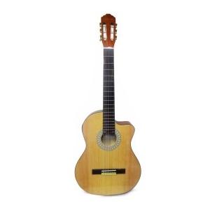 """Guitarra Clásica Valenciana Cutaway 39"""" Color Yamaha con Funda"""