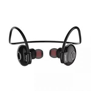 Audifonos Bluetooth Deportivos A845BL marca Awei color Negro