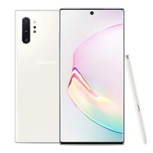 "Celular Samsung Galaxy Note 10 Plus 256GB 12GB RAM 6.8"" color Aura Blanca DualSIM"