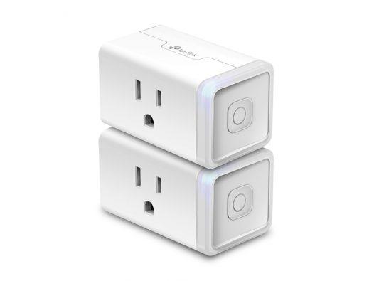Kit de Enchufes Inteligentes marca TP-Link Smart Wi-Fi Plug Mini (2 unidades)