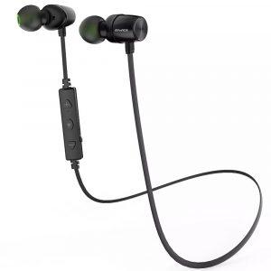 Audifonos Bluetooth Magnéticos WT30 marca Awei color Negro