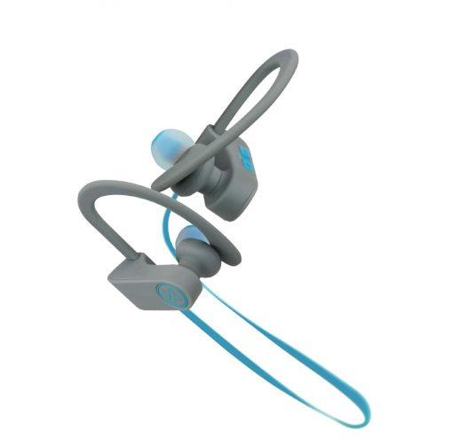 Audifonos Bluetooth JogBudz marca Klip Xtreme KHS-632 color Azul