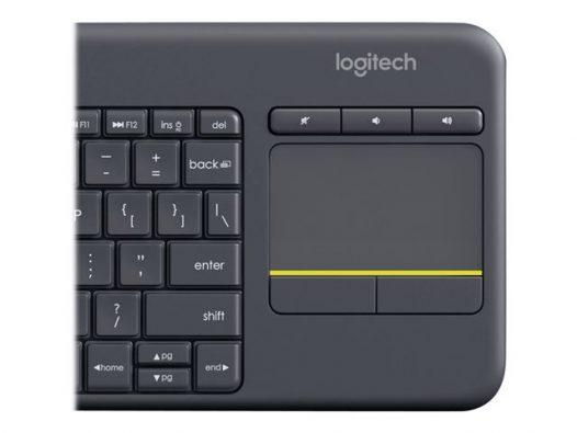 Teclado Inalámbrico para Smart TV K400 Plus en Inglés marca Logitech