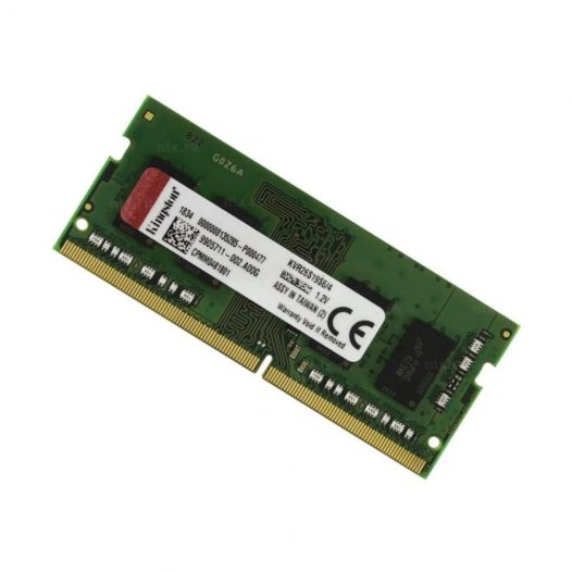 Memoria RAM DDR4 marca Kingston de 4GB para Notebook de 2666Mhz
