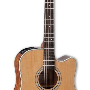 Guitarra Electroacústica GD20CE NS Marca Takamine de Cuerpo Dreadnought Color Caoba Natural