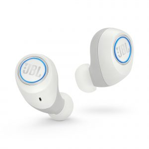 Audifonos Bluetooth Inalámbricos JBL Free X color Blanco