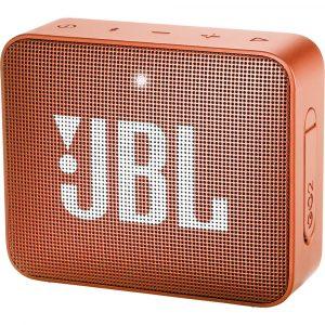 Bocina Bluetooth JBL Go 2 Resistente al Agua color Anaranjado 3W