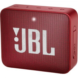 Bocina Bluetooth JBL Go 2 Resistente al Agua color Rojo 3W