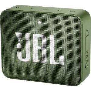 Bocina Bluetooth JBL Go 2 Resistente al Agua color Verde 3W