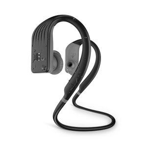 Audifonos Bluetooth JBL Endurance Jump Resistencia al Agua color Negro con Gris