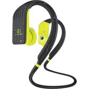 Audifonos Bluetooth JBL Endurance Jump Resistencia al Agua color Negro con Verde
