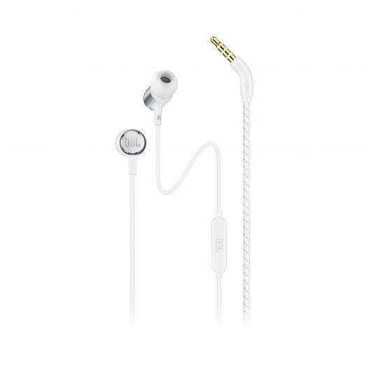 Audífonos JBL Live 100 con Micrófono color Blanco