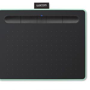 Tableta Digitalizadora Bluetooth Wacom Intuos Small Color Verde Pistacho con Lápiz