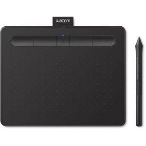Tableta Digitalizadora Bluetooth Wacom Intuos Small Color Negro con Lápiz