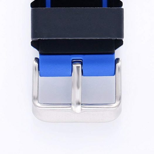 Pulsera para Reloj NO. 1 DT-28 tipo Sport color Azul con Negro