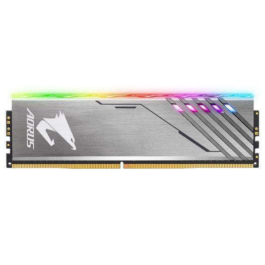 Memoria RAM DDR4 marca Gigabyte Aorus RGB de 16GB (2x8GB) para Desktop de 3200Mhz