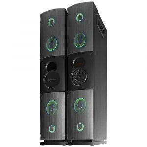 Bocina Bluetooth de Piso con Microfono Inalámbrico Duet KFS-600 marca Klip Xtreme