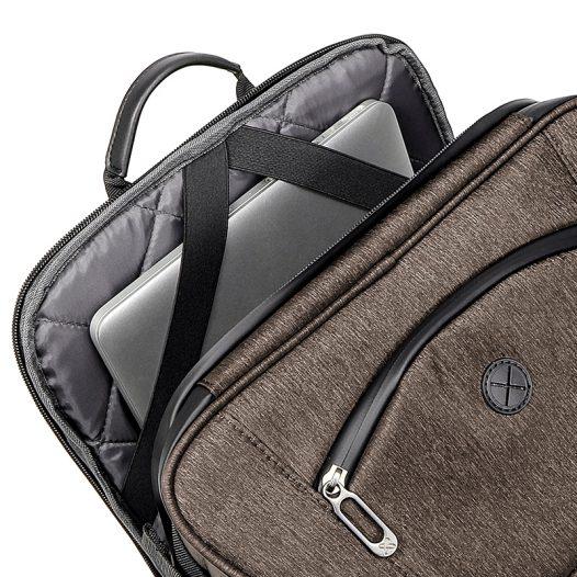 """Mochila para Laptop de hasta 15.6"""" KNB-900 marca Klip Xtreme color Café"""