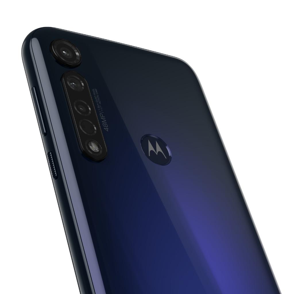 "Celular Motorola G8 Plus 4GB RAM 64GB 6.3"" 48Mgplx color Azul Grafeno -  Kemik Guatemala"