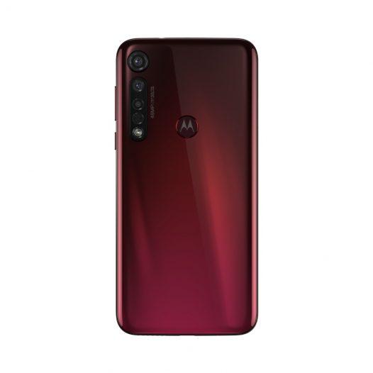 "Motorola G8 Plus 4GB RAM 64GB 6.3"" 48Mgplx color Rojo Arándano"