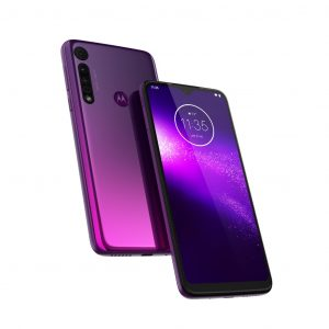 "Celular Motorola One Macro 4GB RAM 64GB 6.2"" DualSIM Color Violeta"