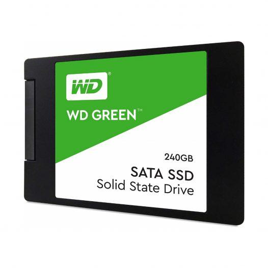 Unidad de Estado Solido 240GB Green Western Digital