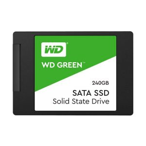 Unidad de Estado Solido de 240GB marca Western Digital Green