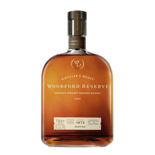 Botella de Whisky Woodford Reserve