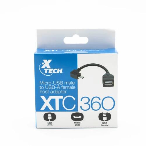 Cable OTG Micro USB a USB A Hembra XTECH XTC-360