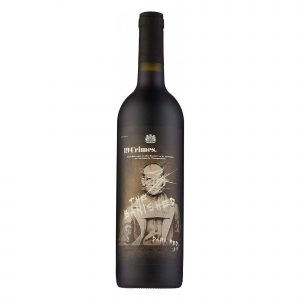 Botella de Vino Tinto 19 Crimes The Banished – Shiraz / Cabernet Sauvignon / Garnacha – Australia – 19 Crimes