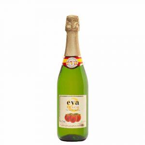 Botella de Vino Espumoso Sin Alcohol Eva Espumante De Jugo De Melocoton - Melocoton - Español